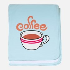 HOT COFFEE baby blanket