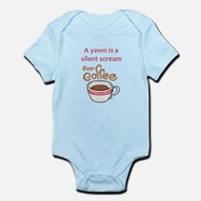 SILENT SCREAM FOR COFFEE Body Suit