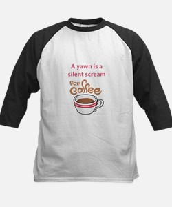 SILENT SCREAM FOR COFFEE Baseball Jersey