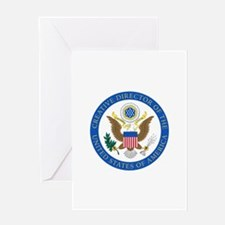 CD of the USA2 Greeting Cards