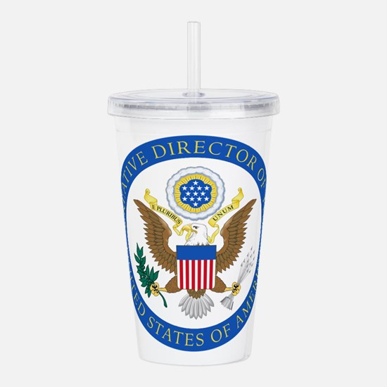 CD of the USA2 Acrylic Double-wall Tumbler