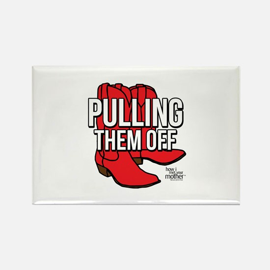 HIMYM Red Boots Rectangle Magnet