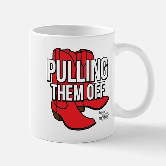 HIMYM Red Boots Mug