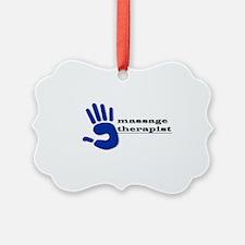 Massage Therapist Hand Ornament