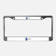 Massage Therapist Hand License Plate Frame