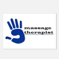 Massage Therapist Hand Postcards (Package of 8)
