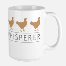 Chicken Whisperer Large Mug