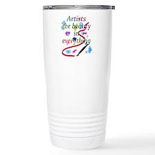 Artists See Beauty Travel Mug