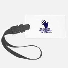 HIMYM Fives Luggage Tag