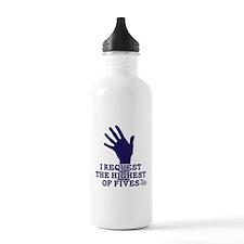 HIMYM Fives Water Bottle
