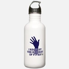 HIMYM Fives Water Bottle