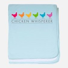Chicken Whisperer baby blanket