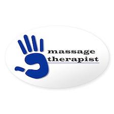 Massage Therapist Hand Decal