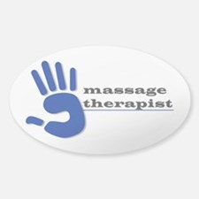Massage Therapist Hand Decal
