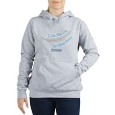 I Can Run Like The Wind Blows Women's Hooded Sweat