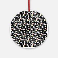 Festive Bingo Balls Ornament (Round)
