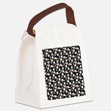 Festive Bingo Balls Canvas Lunch Bag
