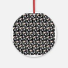 Bingo Balls Sparkle Ornament (Round)