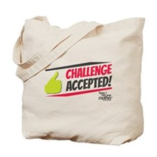 Challenge Excepted Tote Bag