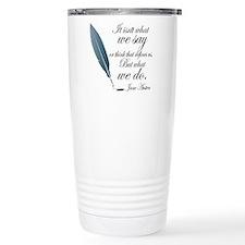 Unique Austen Thermos Mug