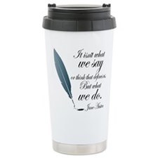 Funny Jane austen Travel Mug