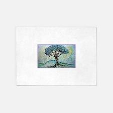 tree ! tree of life, art! 5'x7'Area Rug