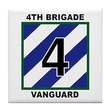 3ID - 4th Brigade Tile Coaster