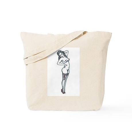 Sexy Pin Up Tote Bag
