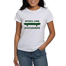 Natural Born Skateboarder Tee
