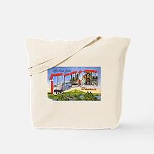 Wausau Wisconsin Greetings Tote Bag
