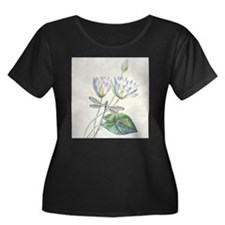 Lotus and dragonfly Plus Size T-Shirt