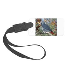 Sunlight on Feathers Luggage Tag