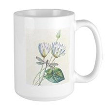 Lotus and dragonfly Mugs