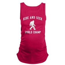 Hide & Seek World Champion Maternity Tank Top