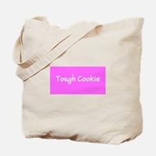 Tough Cookie Breast Cancer Pink Designer Tote Bag