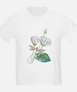 Lotus and dragonfly T-Shirt