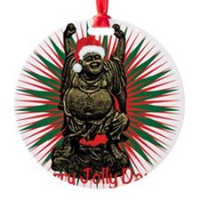 Jolly Santa Buddha Ornament