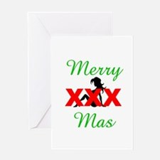 XXXmas(blank) Greeting Card