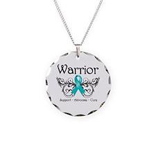 Ovarian Cancer Warrior Necklace
