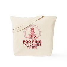 poo ping restaurant Tote Bag