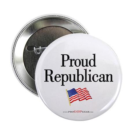 """""""Proud Republican"""" Button"""