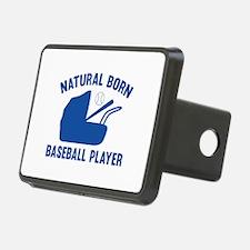 Natural Born Baseball Player Hitch Cover