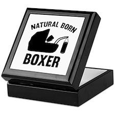 Natural Born Boxer Keepsake Box