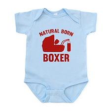 Natural Born Boxer Onesie