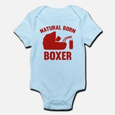 Natural Born Boxer Onesie