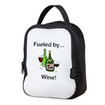 Fueled by Wine Neoprene Lunch Bag