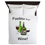 Fueled by Wine Queen Duvet