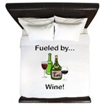 Fueled by Wine King Duvet