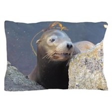 Sea Lion Having Fun Pillow Case