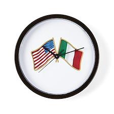 Cute Italian pride Wall Clock